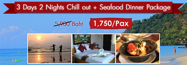 Chill Out Koh Chang 3 Days 2 Nights Package