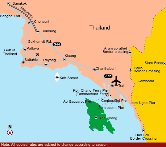 How to go Koh Chang How to Get to Koh Chang Taking the Trip in