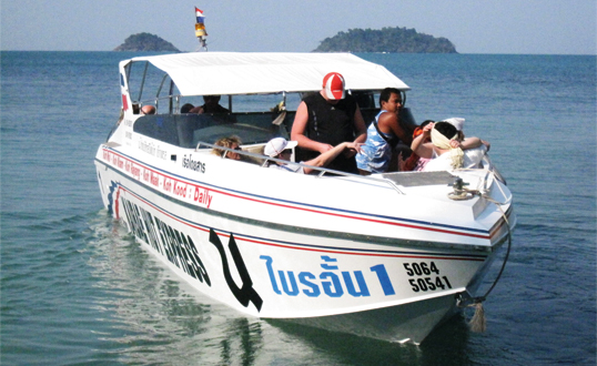 Koh Chang Speed Boat
